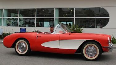 1958-1960 Corvette Bumper Bracket Left Hand Rear Outer